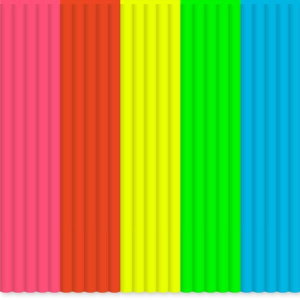 3Doodler Náhradní tyčinky ABS - mix barev Highlights