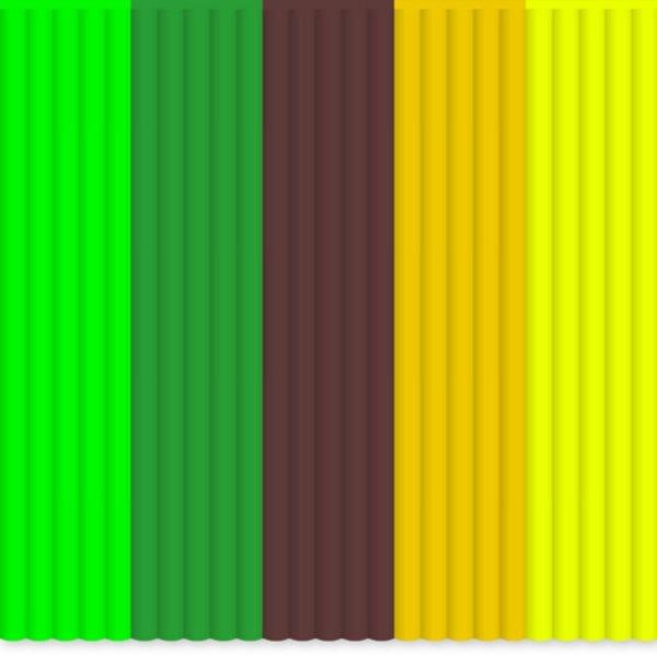 3Doodler Náhradní tyčinky ABS - mix barev Welcome to the Jungle