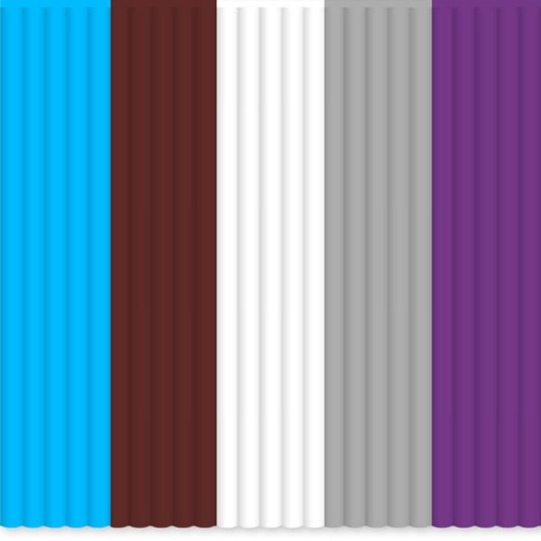 3Doodler Náhradní tyčinky PLA - mix barev Meta