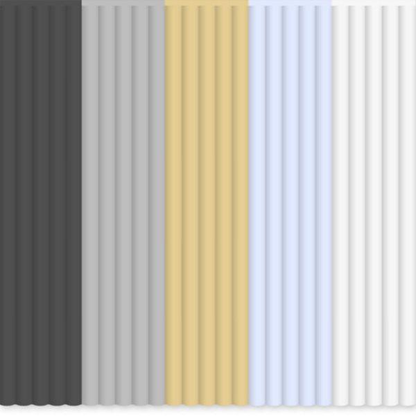 3Doodler Náhradní tyčinky PLA - mix barev Khakis & Cream