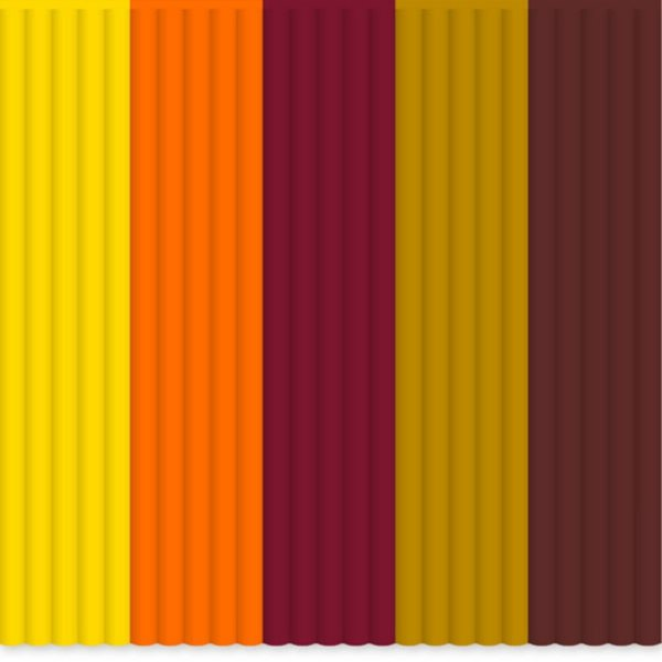 3Doodler Náhradní tyčinky PLA - mix barev Fall Foliage