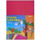 Vlnitý papír 260g - 34,5 x 24,5 cm - 10 listů - pink