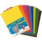 Kreslicí karton barevný A3 - 180g - 50 ks - mix 10 barev