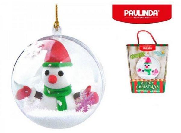 Modelovací hmota Paulinda -Merry Christmas - 2 x 14g + příslušenství
