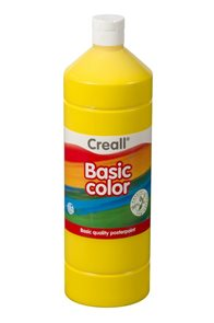 Temperová barva Creall - 1 L - základní žlutá