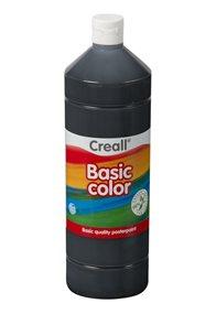 Temperová barva Creall - 1 L - černá