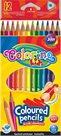 Trojhranné pastelky Colorino - 12 barev