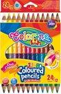 Trojhranné pastelky Colorino JUMBO - 12/24