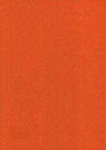 Dekorační filc A4 - oranžový (1ks)