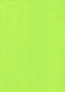Dekorační filc A4 - fluo-žlutozelený (1ks)