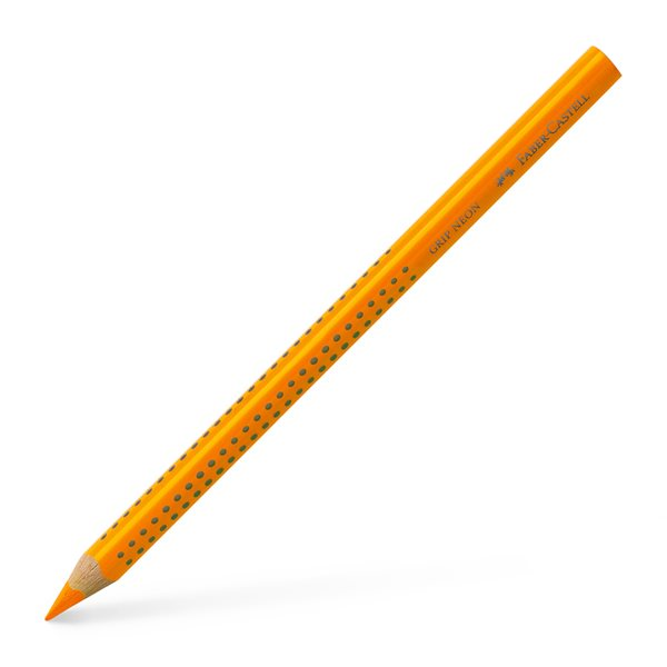 Pastelka Faber-Castell Jumbo Grip Neon, oranžová