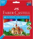 Pastelky Faber-Castell šestihranné, pap.krabička 48ks