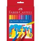 Fixy Faber-Castell - kulaté, 24ks