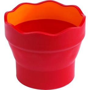 Kelímek na vodu Faber-Castell - CLIC & GO, červená