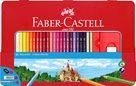 Pastelky Faber-Castell šestihranné, dárkový box - 48 ks