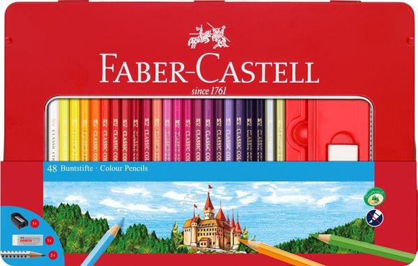 Pastelky Faber-Castell šestihranné, dárkový box