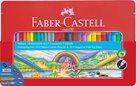 Dárkové balení popisovačů a pastelek Faber-Castell, 50ks +příslušenství