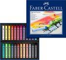 Měkké pastelové křídy Faber-Castell, 24 ks