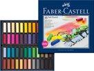 Měkké pastelové křídy MINI Faber-Castell, 48 ks