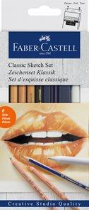 Sada Faber-Castell Goldfaber Classic Sketch, 6 ks