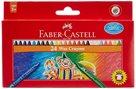 Voskovky Faber-Castell kulaté pap.krabička 24ks