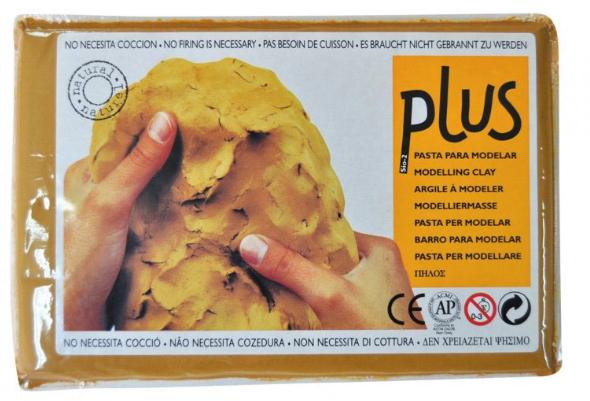 Keramická hmota Plus bez výpalu - 5 kg - terakota