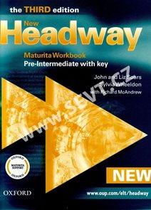 New Headway pre-intermediate Third edition Maturita Workbook with key