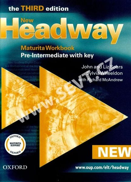 New Headway pre-intermediate Third edition Maturita Workbook with key - Soars J., Soars L., Wheeldon S. - A4, sešitová, Sleva 25%