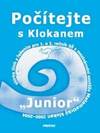 Počítejte s Klokanem - Junior - Horenský,Rys,Zhouf,Molnár - A4, sešitová