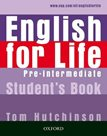 English for life Pre-intermediate Students Book