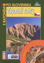Západní Tatry - turistický průvodce Dajama-Akcent č.1 /Slovensko/ - Kováč Blažej - 12x17 cm