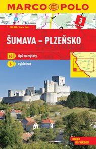 Šumava-Plzeňsko - mapa 1:100 000 + průvodce na víkend