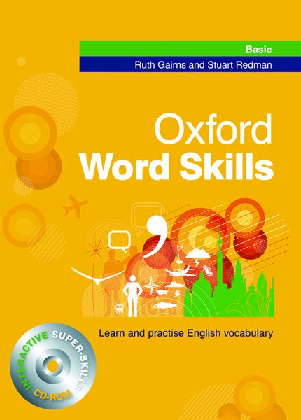 Oxford Word Skills Basic + interactice CD-ROM - Gairns R., Redman S. - 188x294 mm, brožovaná