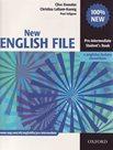 New English File pre-intermediate Students Book + anglicko-český slovníček