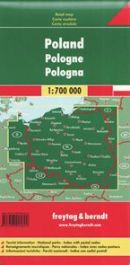 Polsko - mapa Freytag - 1:700 000