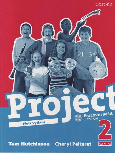 Project 2 - Pracovní sešit + CD /Třetí vydání/, CEF A1-A2 - Hutchinson Tom - A4, sešitová