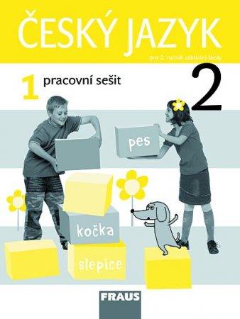 Český jazyk pro 2. ročník základní školy - pracovní sešit 1 - Kosová J., Řeháčková A. - 195x260 mm, sešitová