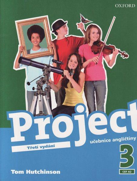 Project 3 - Třetí vydání - učebnice - Hutchinson Tom - A4, brožovaná