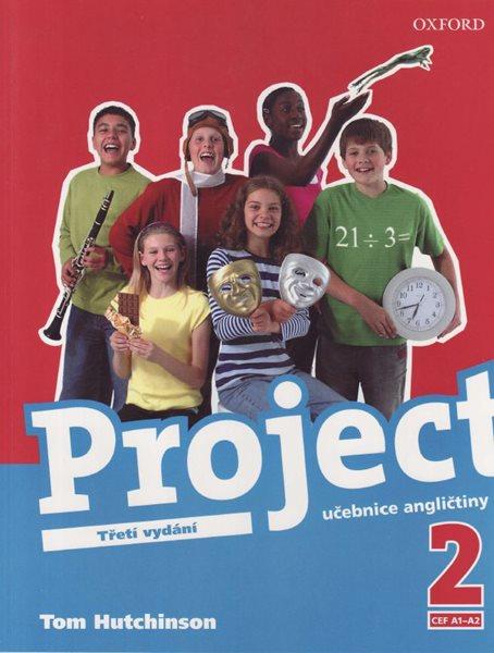 Project 2 - učebnice /Třetí vydání/ CZ - Hutchinson Tom - 220x275 mm, brožovaná