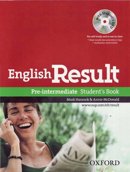 English Result Pre-intermediate Students Book with Student´s DVD - Hancock M., McDonald Annie - A4, brožovaná