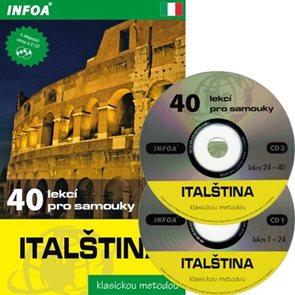 Italština - 40 lekcí pro samouky + audio CD