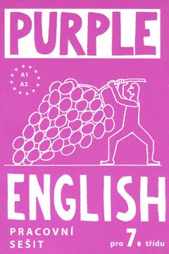Purple English 7.r. - pracovní sešit + audio CD - A5, brožovaná