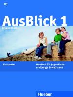 AusBlick 1 Kursbuch - A4, brožovaná
