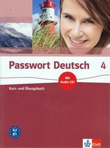 Passwort Deutsch 4, 5.d. - Kurs- und Übungsbuch + CD