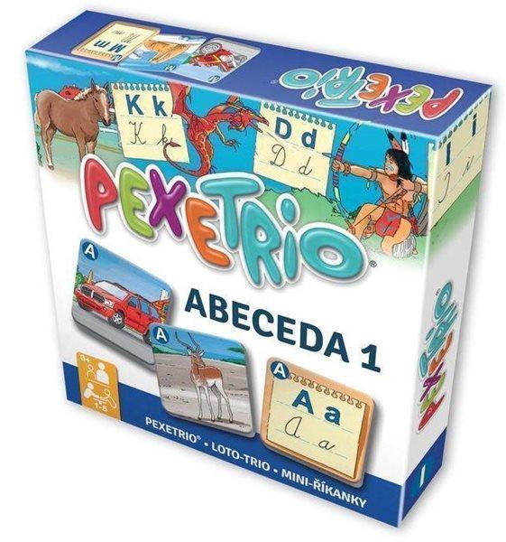 Pexetrio - ABECEDA 1 /NOVÉ/ - neuveden