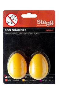 Shaker vajíčka - žlutá