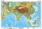 Jižní Asie geografická/ politická - mapa A3