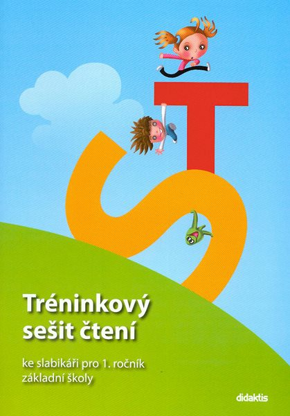 Tréninkový sešit čtení ke slabikáři pro 1. ročník ZŠ - Zetíkova cesta - T. Marková - A4