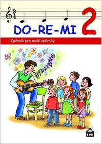 Zpěvník DO-RE-MI 2 pro malé školáky