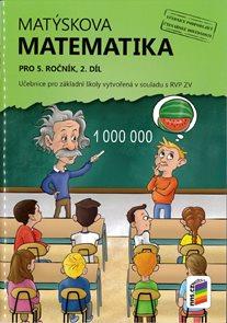 Matýskova matematika pro 5. ročník 2. díl - učebnice